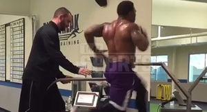 Ray Rice -- Hits 22 MPH on Treadmill ... I Still…