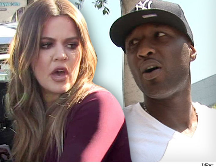 Khloe kardashian and lamar odom have officially signed off on their