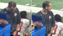 Redskins Asst. Coach -- Pees In Gatorade Cup On Sideline ... Fan Takes Pics