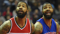 NBA's Morris Twins -- Sued For Alleged Basketball Court Beatdown