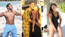 Ludacris & Eudoxie Get Yachty ... Trip Out on the Sexy Vacation Photos