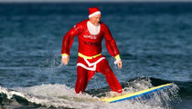 Surfin' Santas ... Hang Ten for the Holidays with Wave Ridin' St. Nicks