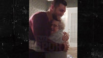 Tim Tebow -- BEST. FANGIRL. EVER. ... Kissed By 89-Year-Old Superfan (Video)