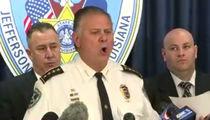 Joe McKnight Case -- Sheriff Drops N-Bomb, F-Bomb ... In Bizarre News Conference (Video)