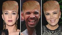 Stars With Donald's Signature 'Do ... Comb Through the Funny Follicle Photos