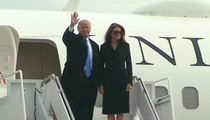 Donald Trump and the WHOLE Brood Arrive in D.C. (VIDEO)
