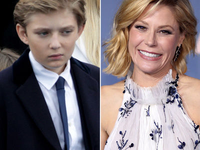 See Why Julie Bowen Is Getting TORN APART Over Barron Trump Jokes -- This Is Brutal!