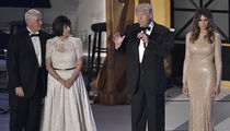 Trump and Company All Gussied Up for Pre-Inaugural Parties