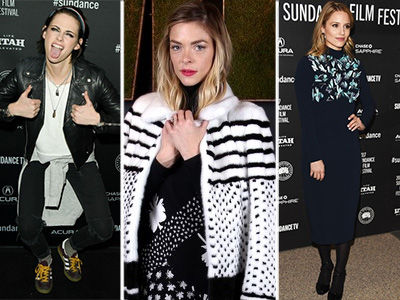 See Celebrities' Hottest Looks at the 2017 Sundance Film Festival (Photos)