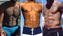 Guess the NBA All-Star Abs ... See Whose Slammin' Stomachs!