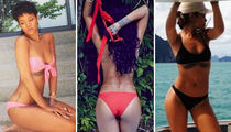 Sexy Pics of Bday Babe Rihanna Since You Don't Have To Work, Work, Work, Work, Work