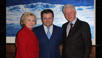 Bill Clinton Moved to Tears by Albanian Immigrant