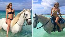 Doutzen Kroes vs. Jasmine Sanders -- Who'd You Rather?! (Horseback Babes Edition)