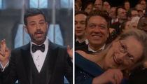 Jimmy Kimmel Uses 'Over-Rated' Meryl Streep to Jab Trump