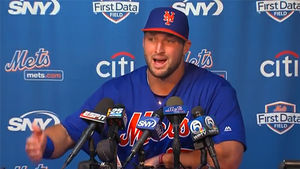 Tim Tebow: Baseball Is NOT My Life's Calling ... I've Got MUCH BIGGER Plans!