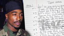 Tupac's Handwritten 'Dear Mama' Lyrics Up for Sale (DOCUMENT)
