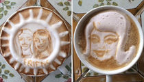 38 Impressive Cappuccino Creations by Christie Brinkley