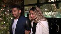 Russell Wilson & Ciara: DON'T LOOK AT US (But Really, Look at Us!) (VIDEO)