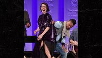 Cuba Goding Jr. Lifts Sarah Paulson's Dress, She Laughs But Fans Don't