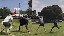Chad Johnson Covers Antonio Brown ... Doesn't Suck! (VIDEO)
