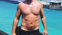 Guess Which Star Put His Dad Bod On Display In This Shirtless Shot