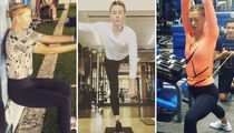 Maria Sharapova's Back on the Court ... See How She Kept Her Game on Point