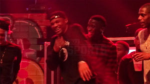 Lil Wayne Gives Russell Westbrook An Assist To Turn Up On Stage