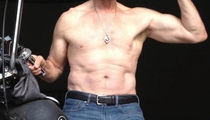 Guess Which 62 Year Old Star Owns This Shredded Selfie!