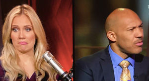 LaVar Ball Refuses To Look At Kristine Leahy After Sexist Answer To Her Question About Marketing To…
