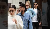 Kim Kardashian and Kanye West All Smiles On Disney Rides