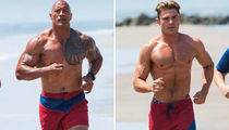 The Rock vs. Zac Efron ... Who'd You Rather?! (Baewatch Edition)