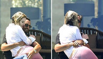 Scott Disick and Bella Thorne Lounge by the Pool in Cannes