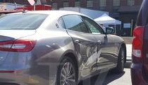 Taraji P. Henson Crashes Maserati into Fire Hydrant on Movie Set